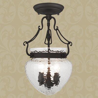 Braidwood 3-Light Convertible Foyer Pendant Color: Bronze