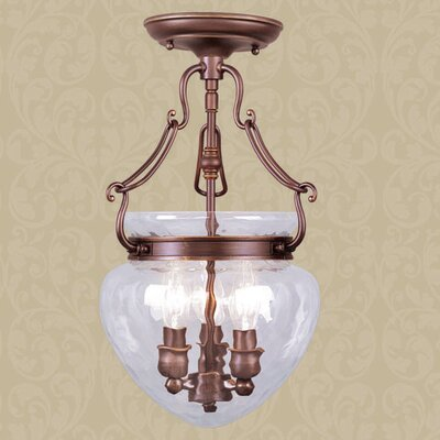 Braidwood 3-Light Convertible Foyer Pendant Finish: Vintage Bronze
