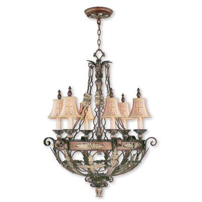 Browne 6-Light Shaded Chandelier