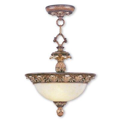 Savannah 2-Light Inverted Pendant