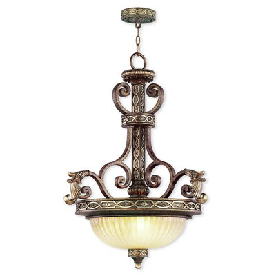 Seville 3-Light Inverted Pendant
