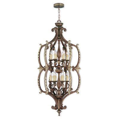 Schweizer 12-Light Foyer Pendant