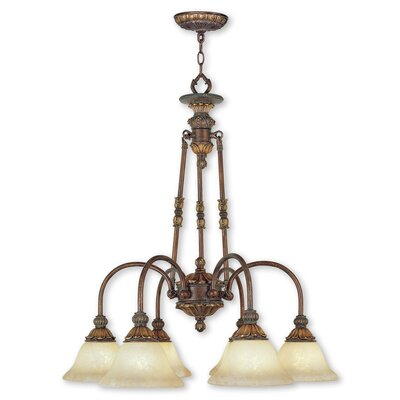 Sealy 6-Light Shaded Chandelier