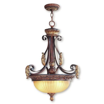 Scottdale 3-Light Inverted Pendant