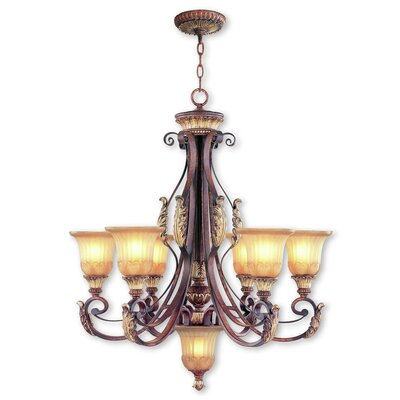 Scottdale 7-Light Shaded Chandelier