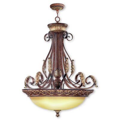 Scottdale 4-Light Inverted Pendant