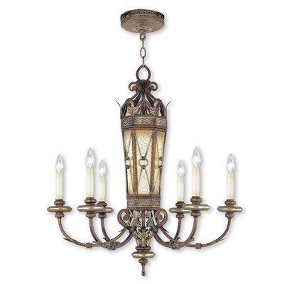 Bradner 6-Light Candle-Style Chandelier