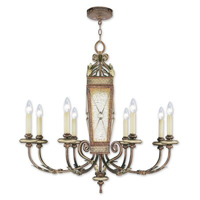 Bradner 8-Light Candle-Style Chandelier