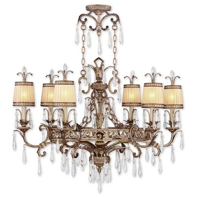 Perot 6-Light Traditional Shaded Chandelier