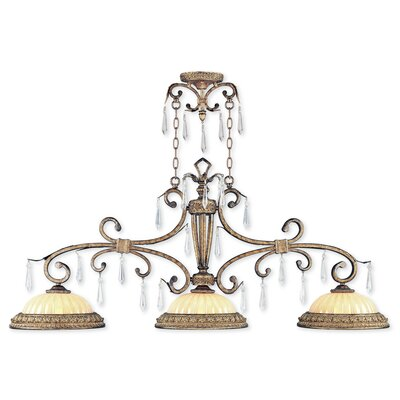 Perot 3-Light Kitchen Island Pendant