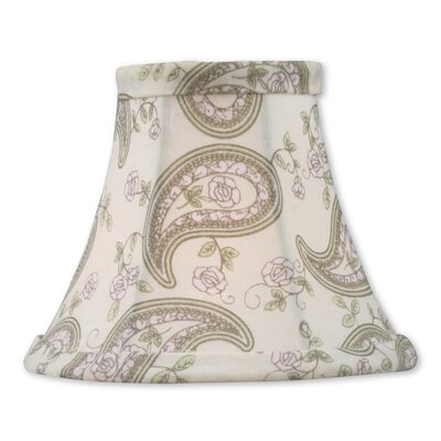 Traditional 5 Floral Silk Bell Clip-on Candelabra Shade