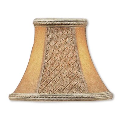 Traditional 6 Silk Bell Clip-on Candelabra Shade