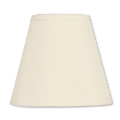 5 Silk Empire Indoor Candelabra Shade Color: Off White