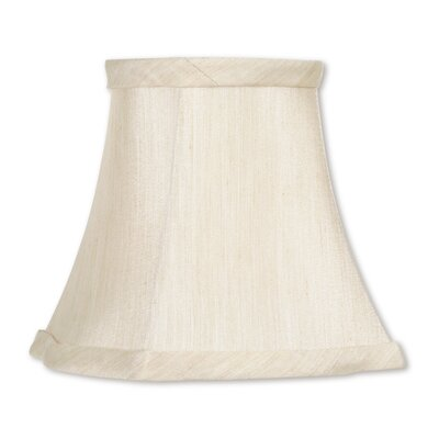 5 Fancy Square Silk Bell Clip-on Candelabra Shade