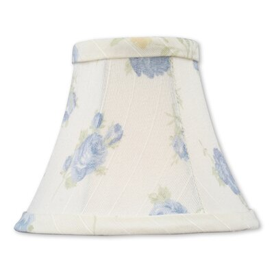 Traditional 5 Floral Silk Bell Candelabra Shade