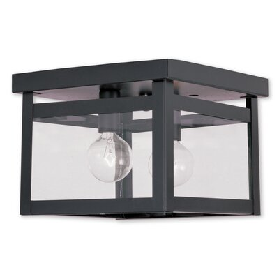 Brundidge 2-Light Flush Mount