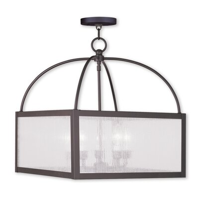 Brundidge 4-Light Foyer Pendant