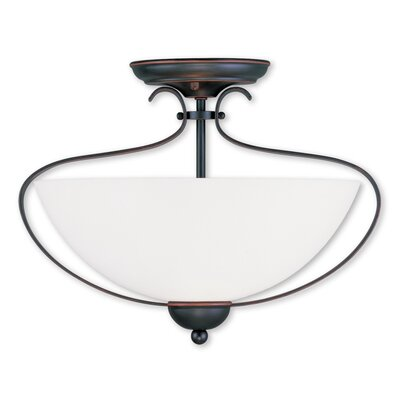 Whittaker 2-Light Flush Mount Finish: Olde Bronze