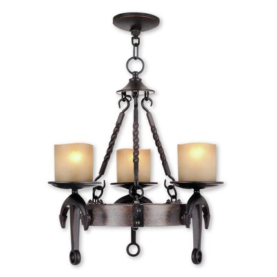 Liam 3-Light Candle-Style Chandelier