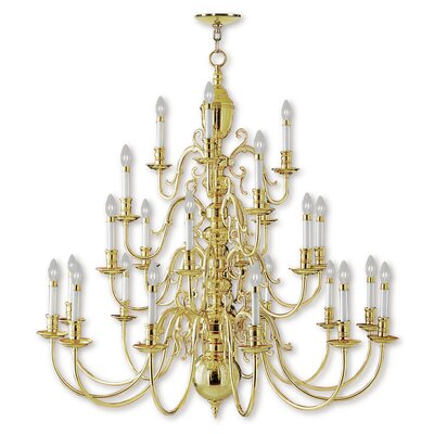 Sellersville 24-Light Candle-Style Chandelier