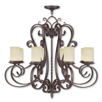 Bressler 8-Light Shaded Chandelier