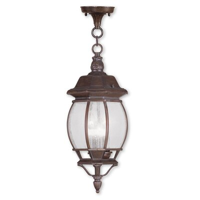 Frontenac 1-Light Foyer Pendant Finish: Imperial Bronze