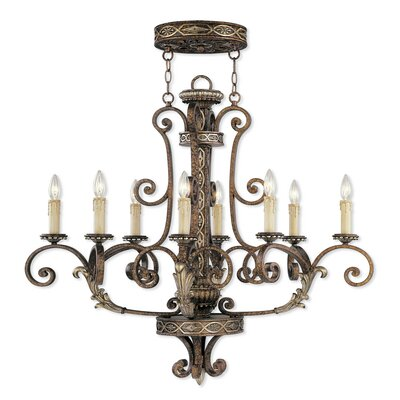 Seville 8-Light Candle-Style Chandelier