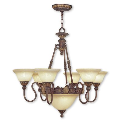 Sealy 8-Light Shaded Chandelier