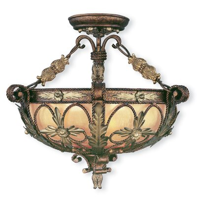 Brownville Semi Flush Mount