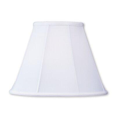 16 Silk Empire Lamp Shade Color: White
