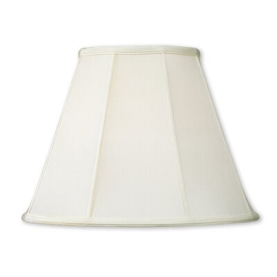 18 Silk Empire Lamp Shade Color: Off White