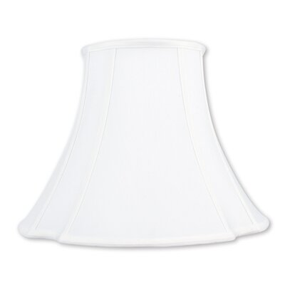 16 Silk Bell Lamp Shade Color: White