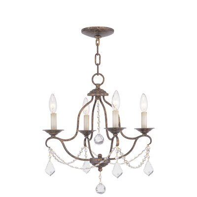 Helena Chandelier in Venetian Golden Bronze