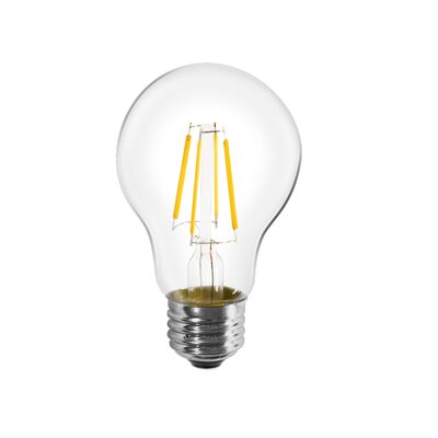 E26/Medium LED Light Bulb (Set of 10) Wattage: 8W
