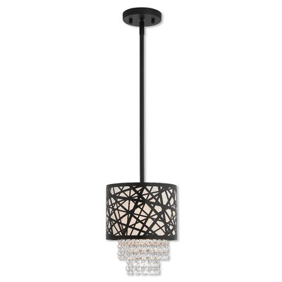 Bottorff 1-Light Mini Pendant Finish: Bronze