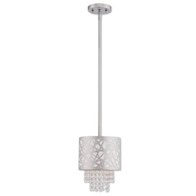 Bottorff 1-Light Mini Pendant Finish: Polished Chrome