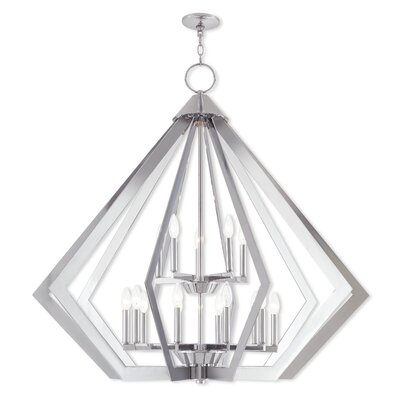 Fantine Foyer Pendant Finish: Polished Chrome