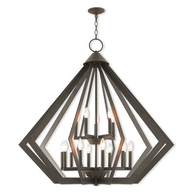 Fantine Foyer Pendant Finish: Bronze