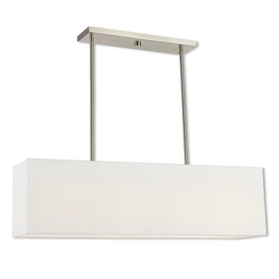 Briceno Linear 2-Light Kitchen Island Pendant Size: 47.5 H x 36 W x 8 D