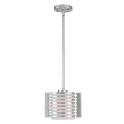 Virgina 1-Light Mini Pendant Finish: Polished Chrome