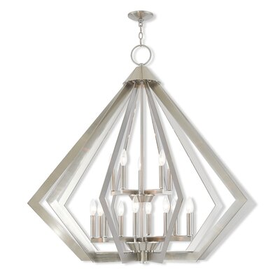 Fantine Foyer Pendant Finish: Brushed Nickel