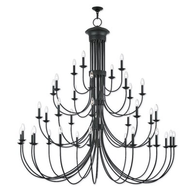 Croydon Grand Candle-Style Chandelier