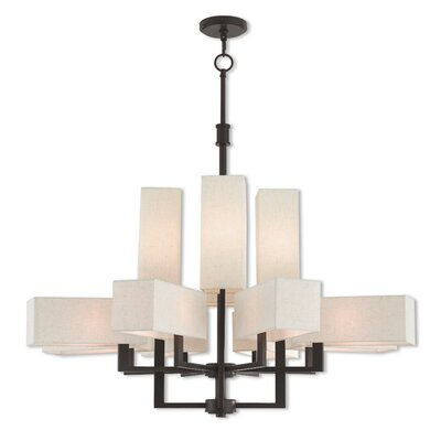 Bigham Candle-Style Chandelier Finish: Bronze