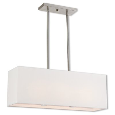 Briceno Linear 2-Light Kitchen Island Pendant Size: 47.5 H x 28 W x 8 D