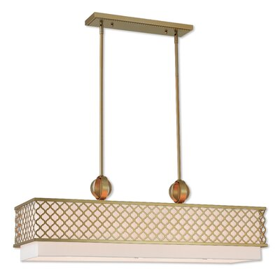Bottomley Linear 6-Light Kitchen Island Pendant Finish: Soft Gold