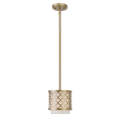 Bottomley 1-Light Mini Pendant Finish: Soft Gold