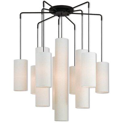 Dimattia 10-Light Candle-Style Chandelier