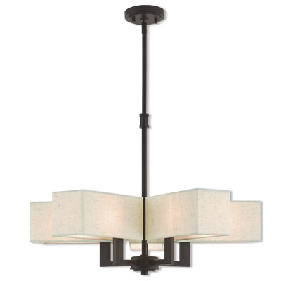 Bigham 5-Light Candle-Style Chandelier Finish: Bronze