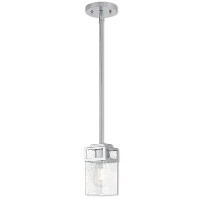Bevins 1-Light Mini Pendant Finish: Polished Chrome