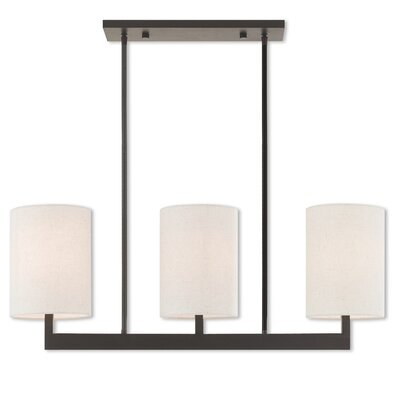 Mai 3-Light Kitchen Island Pendant Finish: Bronze